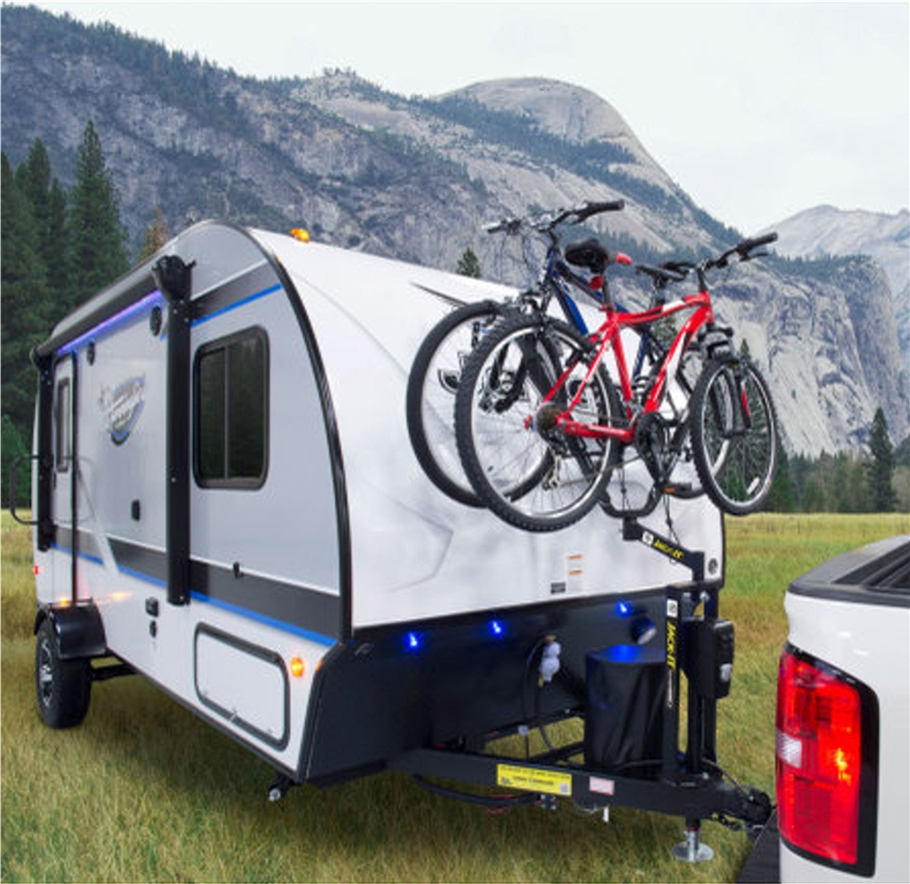 Lippert 429756 Jack-It BikeWing A-Frame Double Bike Carrier