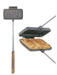 Rome Industries 1605 Cast Iron Double Pie Iron
