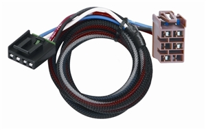 Tekonsha Brake Control Wiring Harness, 2 Plugs - Cadillac, Chevy, GMC and Hummer