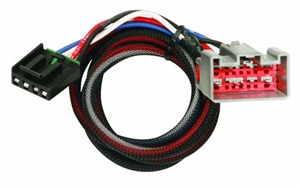 Tekonsha Brake Control Wiring Harness, 2 Plugs - Ford and Lincoln