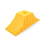 Camco 44435 Tandem Wheel Chock - Yellow
