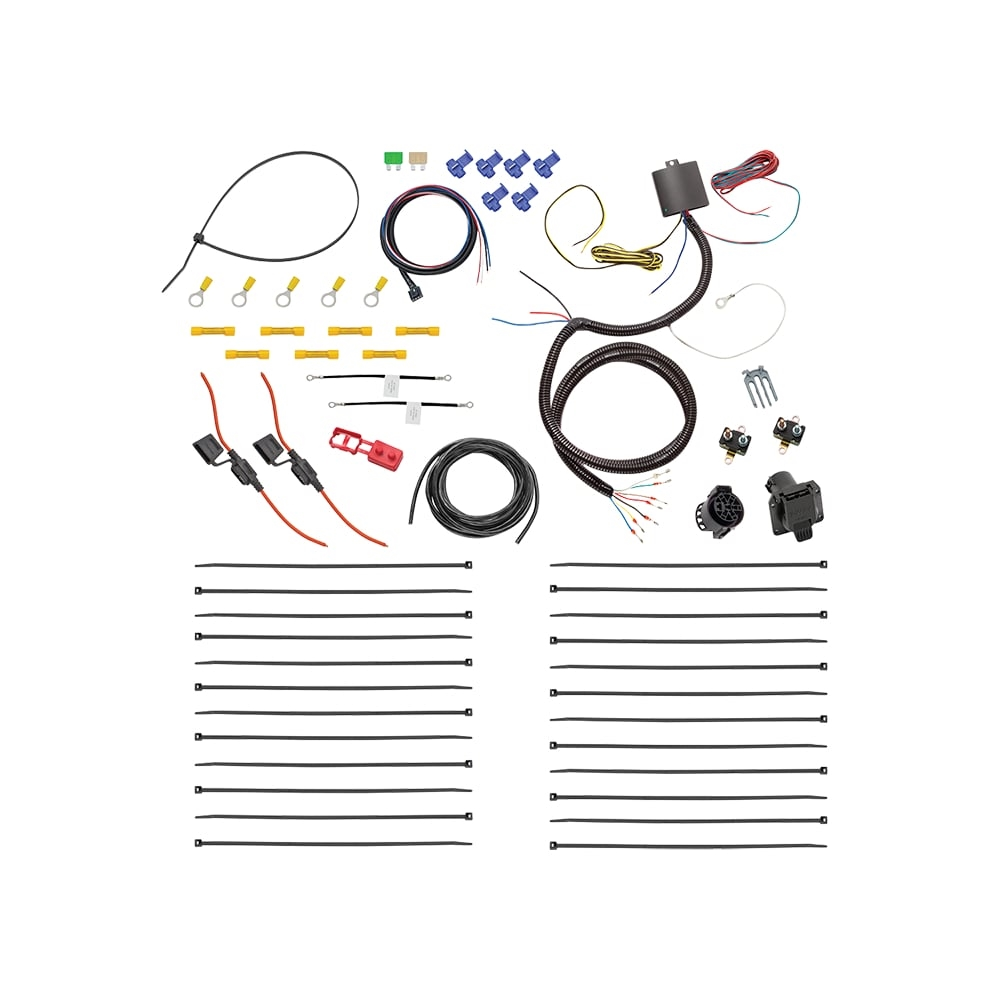 Universal Tow Harness Wiring Library Ready Taillight Converter Free Shipping Tekonsha 22551 7 Way Complete Kit