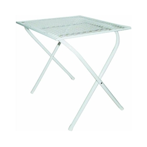 Kay Home Products 1626 Steel Mesh Folding Patio Table