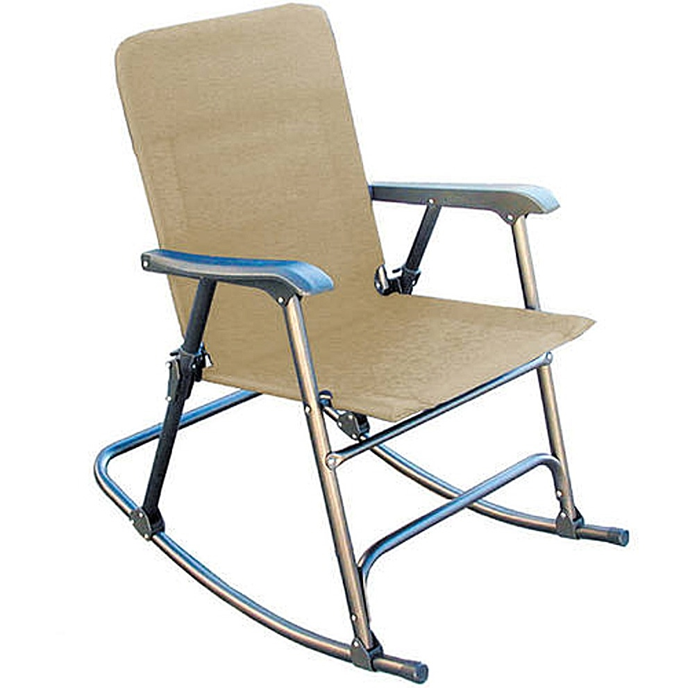 Prime products 13 6506 elite folding rocking chair for Chiasse piscine