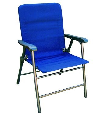 Prime Products 13-3341 Elite Folding Chair - Midnight Blue