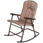 Prime Products 13-6803 Cambria Padded Rocker - Red Rock