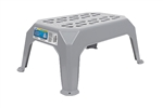 Camco 43460 Gray Plastic Step Stool - Small