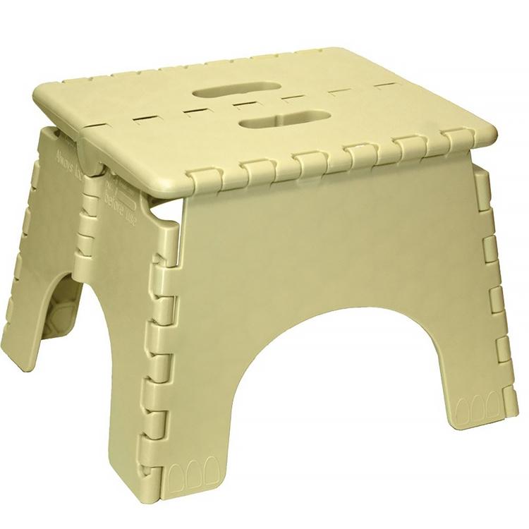 Astonishing Br Plastics 101 6Bg E Z Foldz Beige Step Stool 10 5 8 Squirreltailoven Fun Painted Chair Ideas Images Squirreltailovenorg