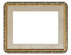 "RVFraimz RV-57-01-GILD 5"" x 7"" Frame Single Gilded"