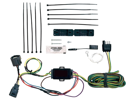 Blue Ox Towed Vehicle Wiring Kit; EZ Light; Custom Fit Plug and Play