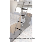 "Topline BL200-03 Universal RV Bunk Ladder with 1"" Hook - Silver - 60"""