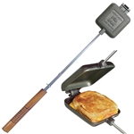 1705 Square Pie Iron - Cast Iron