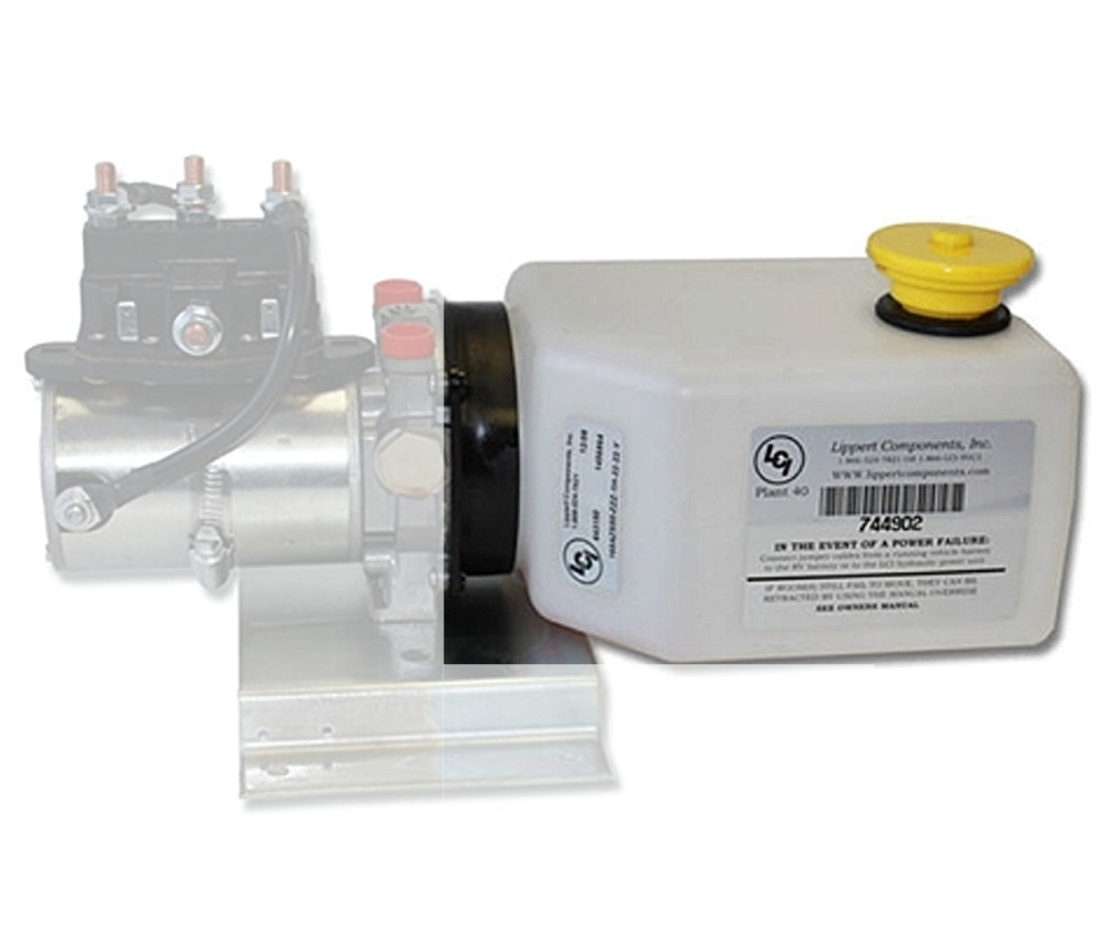 Lippert 177420 2 Quart Hydraulic Reservoir Kit