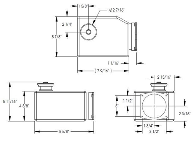 Lippert 177420 Universal 2 Quart Replacement Hydraulic