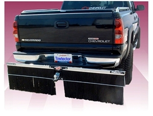 Towtector Chrome Brushstrip Mud Flap