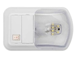 AP Products 016-BL3002 Brilliant LED Single Dome Light