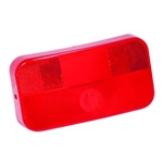 Bargman 34-92-708 Red Taillight Replacement Lens For 30-92-003/108