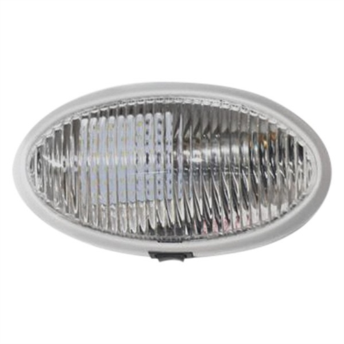 Diamond Group 52730 LED RV Oval Porch Light With Switch