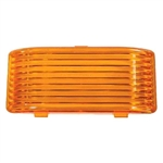 Arcon 18107 RV Porch/Utility Light Replacement Lens - Amber