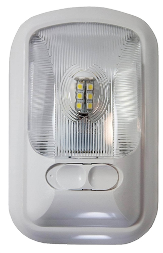 Arcon 20669 LED Euro-Style Light With Switch - Clear Lens - Bright White