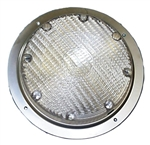 Arcon 20671 Round RV LED Porch Light - Clear Lens