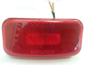 Fasteners Unlimited 003-58B Tail Light Assembly - Red