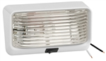 Bargman 34-78-517 Clear Lens Porch Light With Switch