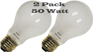 50 Watt (E26) Screw Base Replacement Bulb