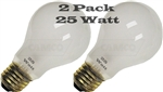 25 Watt (E26) Screw Base Replacement Bulb