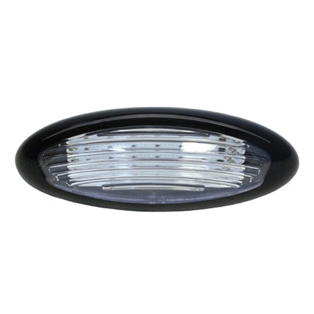 ITC LED Exterior RV Porch Light - Black