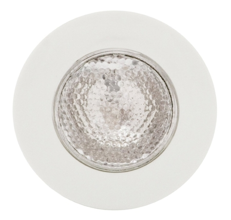 ITC Prizm Surface Mount Halogen Overhead RV Light - White