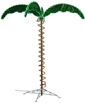 Mings Mark 8080103 Green & Yellow Led Palm Tree 4.5'
