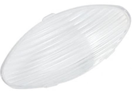 Ming's Mark 9090125 Oval Porch Light Replacement Lens - Clear