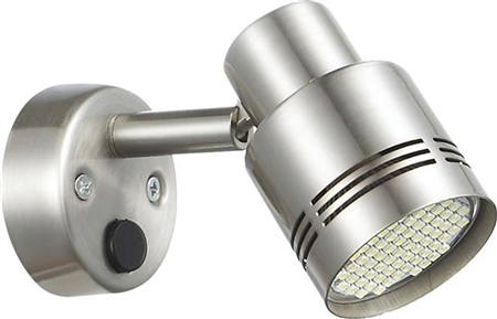 Ming's Mark 9090108 Brushed Nickel RV LED Reading Light