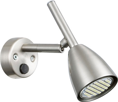 Ming's Mark 9090111 Brushed Nickel LED RV Wall Mount Reading Lamp