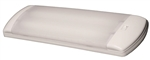 Arcon 13813 Double Tube Fluorescent Light With Switch - Clear Lens - 30 Watts