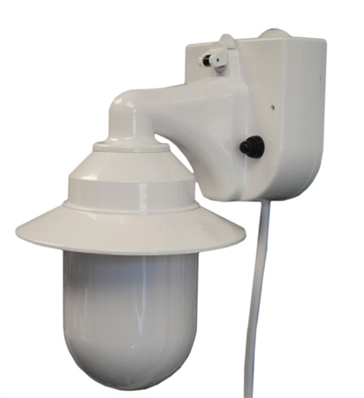 Polymer Products 2101-10000-P Portable Wall Lantern- White