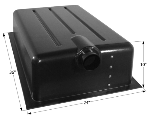 Icon 22 Gallon RV Holding Tank - Center End Drain HT159ED