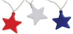 Camco 42656 RV Awning Patriotic Stars Party Lights - 8 Ft