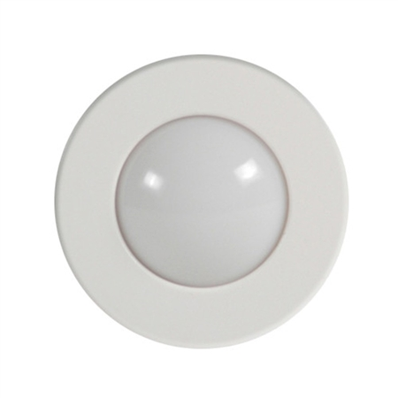 ITC Round Surface Mount LED Hardtop/Spreader RV Light - White