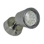 Brushed Nickel LED Cluster RV Reading Light