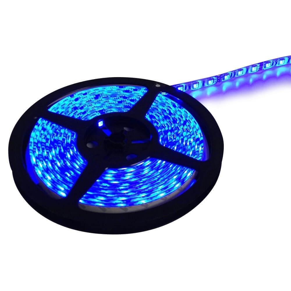 Diamond group 52683 16 led rv strip light blue aloadofball Gallery
