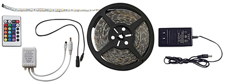 Diamond Group Multi-Color LED Light Strip - 16.4 ft.