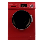 Pinnacle 18-4400M Super Combo RV Washer/Dryer - Merlot