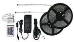 Diamond Group 52694 RV Multicolor LED Strip Light Kit - 33'