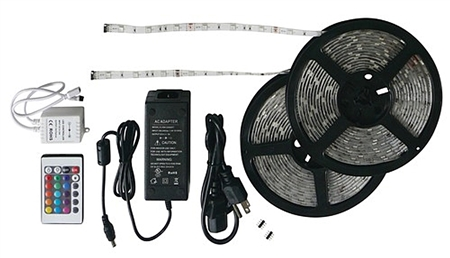 Diamond Group LED Rope Light - 33', 16 Colors