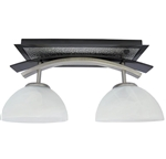 ITC Willow 2 Bulb RV Dinette Light - Nickel