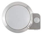 AP Products 016-SON301 LED Motion Light Sensor Light Fixture- Brushed Nickle