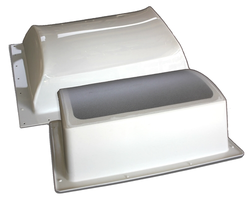 Specialty Recreation K1422WT Outer/Inner RV Skylight Kit - White