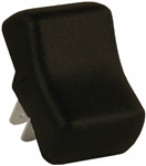 JR Products 12165 Multi-Purpose Single Rocker Switch - Brown